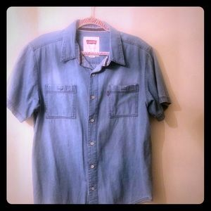 Men's L Levi Strauss Red tag shirt